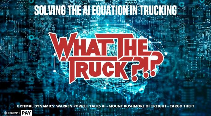 Solving The AI Equation In Trucking With Video