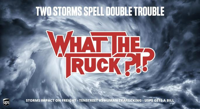 Two Storms Spell Double Trouble – WHAT THE TRUCK?!? With Video