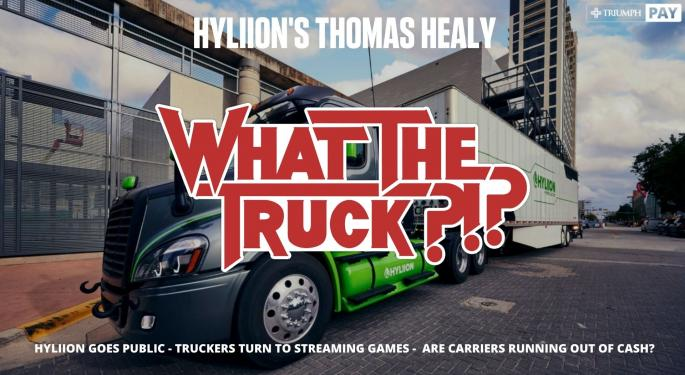 Hyliion CEO Thomas Healy On Going Public – WHAT THE TRUCK?!? With Video