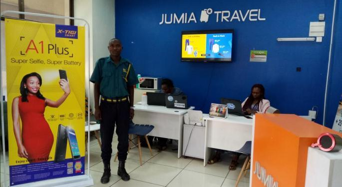 Jumia Falls 20% On Q3 Earnings, Makes 'Progress' On Path To Profitability