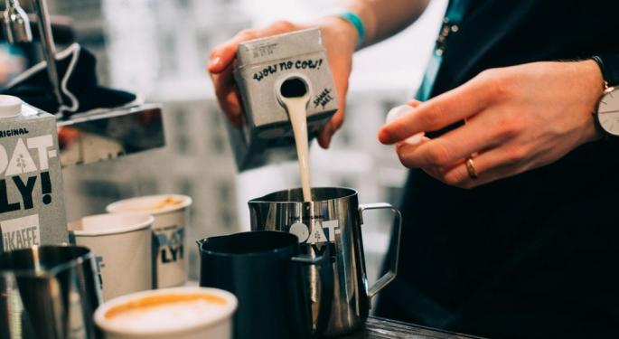 Vegan Milk Company Oatly Makes Big Splash At Starbucks Ahead Of IPO