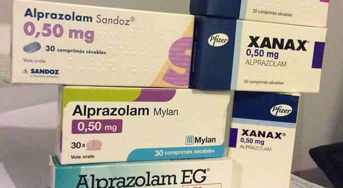 Stop The Presses: Xanax Sales Tend To Pick Up During The Holiday Season