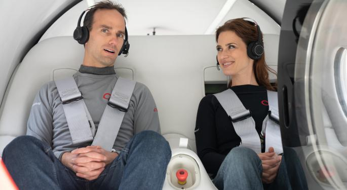 Virgin Hyperloop Transports First Passengers In Nevada Trial