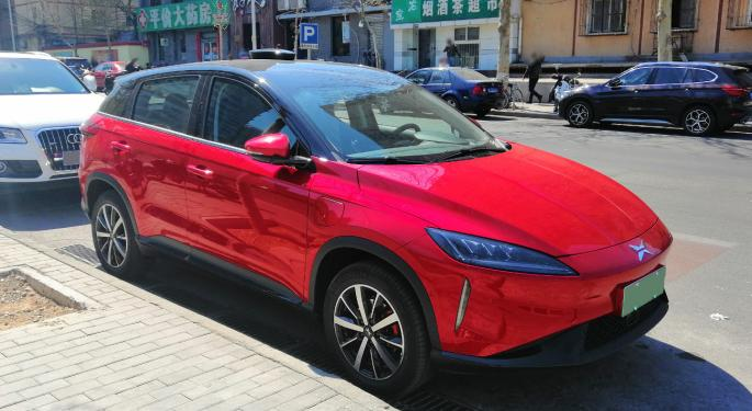 Why Chinese EV Stocks Are Trading Higher Today
