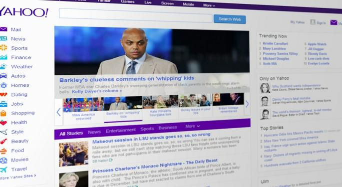 Bidding Prices For Yahoo's Internet Assets Notably Below Prior Expectations