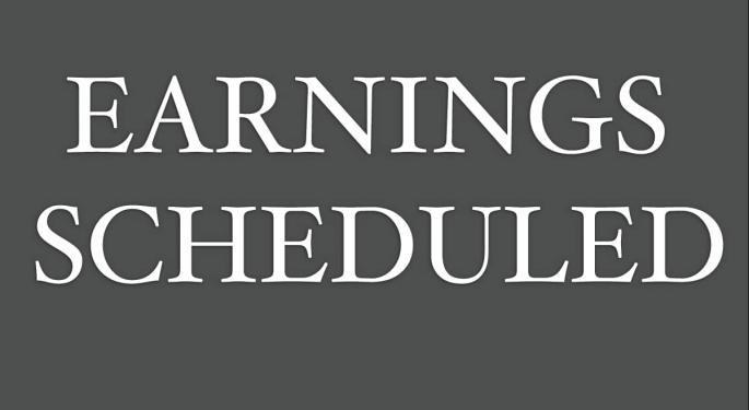 Earnings Scheduled For September 3, 2021