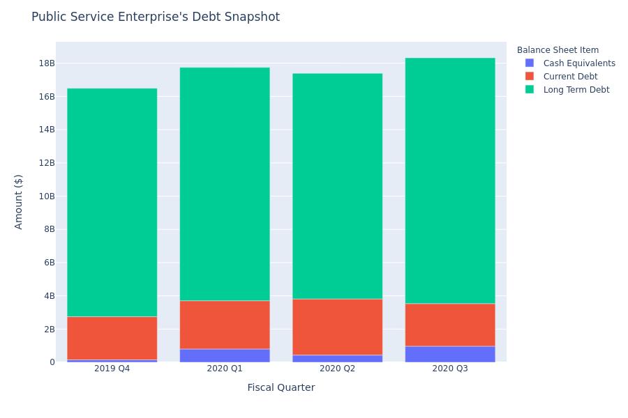 A Look Into Public Service Enterprise's Debt
